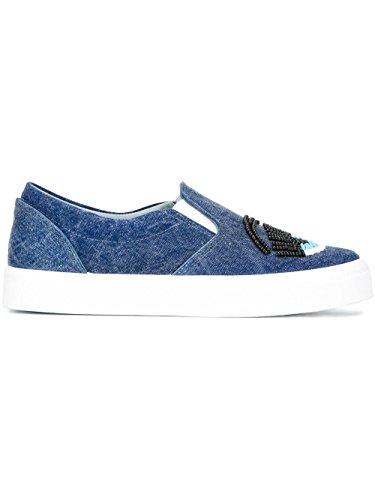 Chiara Ferragni , Baskets pour femme bleu bleu clair IT - Marke Größe