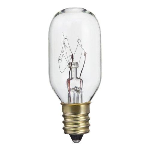 Philips 416123 Clear Appliance 15-Watt T7 Candelabra Base Light Bulb