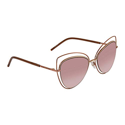 Marc Jacobs Women's MARC8S Cateye Sunglasses, Gold Copper/Pink Beige, 56 mm (Marc Jacobs Beige)