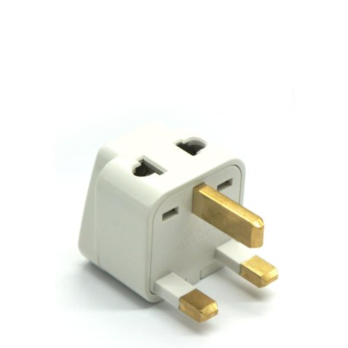 Grounded Universal 2 in 1 Plug Adapter Type G for United Kin