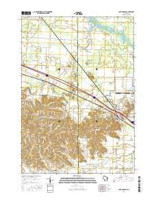 Camp Douglas, Wisconsin topo map by East View Geospatial, 1:24:000, 7.5 x 7.5 Minutes, US Topo, 22.8