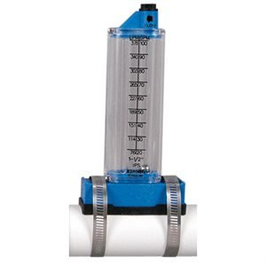 Rola-Chem RC570341T 1.50 in. Top Mount Flowmeter by Rola-Chem