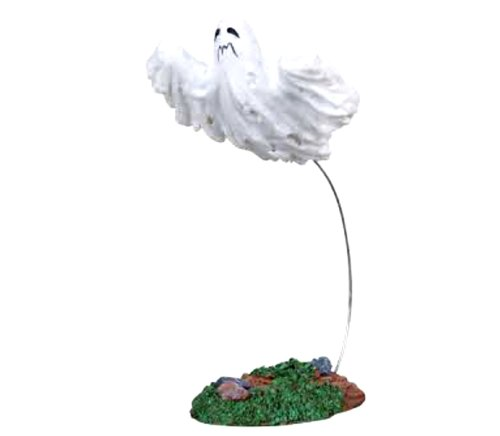 Lemax Spooky Town Halloween Flying Ghost (Dept 56 Halloween Train)