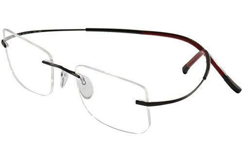 Silhouette Eyeglasses Titan Min Art Icon Chassis 7581 6058 Optical Frame - Glasses Silhouette