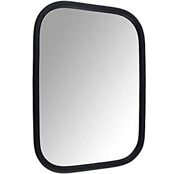 Pickup Truck Mirror Tripod Large Stainless Steel Driver or Passenger Side