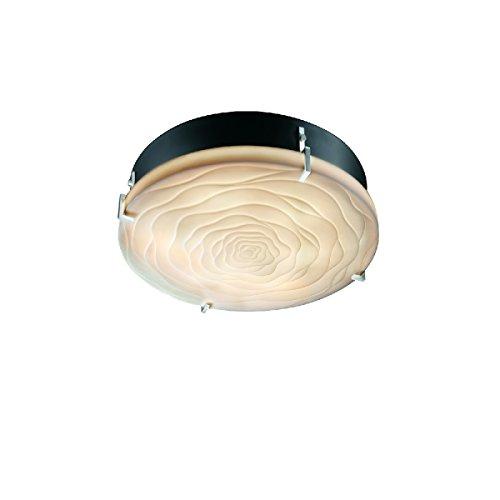 Design Clips Group Justice (Justice Design Group Lighting PNA-5545-WAVE-NCKL-LED2-2000 Porcelina-Clips 12