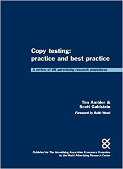 Copy Testing: Practice and Best Practice