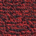 Outdoor Entry Mat - All Weather Doormat - ''AquaFlow'' - 4' x 8' - Red Black