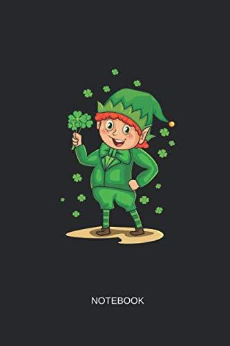 Notebook: Blank Lined Journal 6x9 - Irish Leprechaun Shamrock St Patricks Day Gift