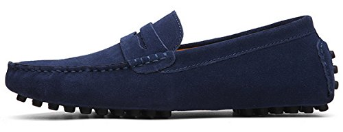 38 Zapatos Mocasines 49 Oscuro JOOMRA para 2 Hombre Azul p5I5dq