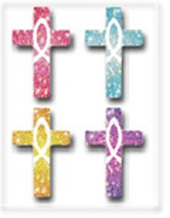 Sticker-Crosses Dazzle (Pack of (120 Count Cd)