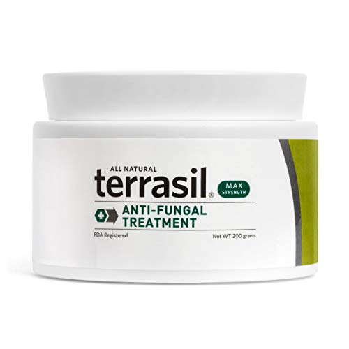 Terrasil® Anti-fungal Treatment MAX - 6X Faster, Doctor Recommended, 100% Guaranteed, All-Natural, Soothing, OTC-Registered ointment for fungal infections (200g Max Jar) ()
