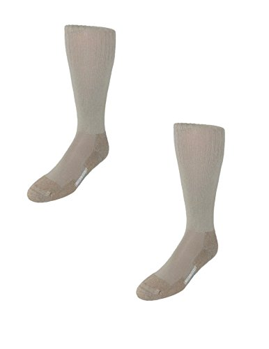 Jefferies Socks Men's Military Blister Guard Boot Socks (Pack of 2), (Blister Guard Socks)