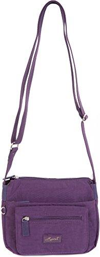 mujer cruzados Spirit Deep Bolso para Spirit Purple qCnwH6xx0