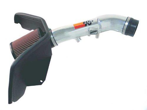 Chevy Trailblazer Air Filter (06-09 Chevy Trailblazer 4.2L L6 K&N Cold Air Intake Kit + Filter Polish 77-3062KP)