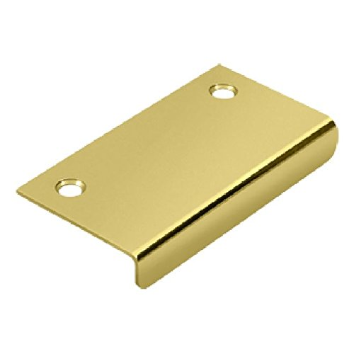 Deltana DCM315U3 3-Inch x 11/2-Inch Solid Brass Drawer Or Cabinet Mirror Pull