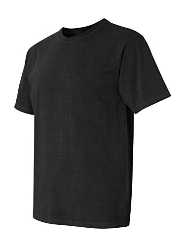 - Comfort Colors Men's Adult Short Sleeve Tee, Style 1717, Black, X-Large