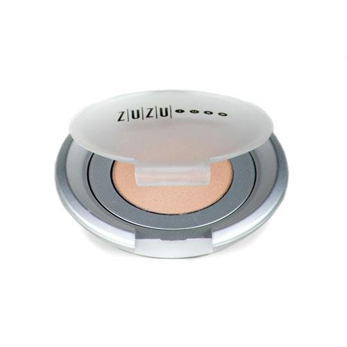 Zuzu Luxe Eyeshadows - Size .07 Oz. - Vegan Eyeshadows, Zuzu Eyeshadow-Casino(Shimmer, Dark grey with silver undertone)