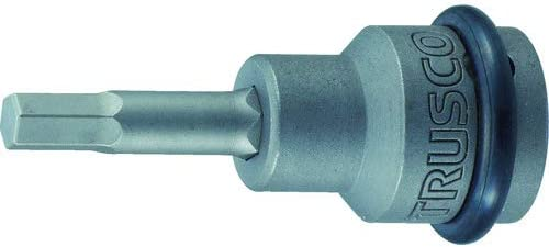 TRUSCO DIY・工具・ガーデン|||電動工具・エア工具|||電動工具パーツ・アクセサリ|||ドリルアクセサリ|||ねじ締め|||ヘキサゴンビット トラスコ インパクト用ヘキサゴンソケットソケット 差込角9.5 対辺3mm THX3-03