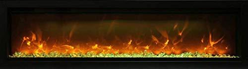 Cheap Amantii SYM-60-B Electric Fireplace Black Friday & Cyber Monday 2019