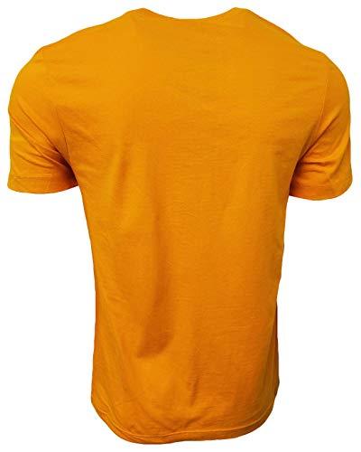 Nike Men's Italic Graphic Logo Crewneck T-Shirt 2
