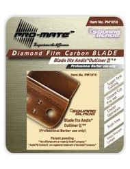 PRO-MATE Square Blade - Fits Andis Outliner II