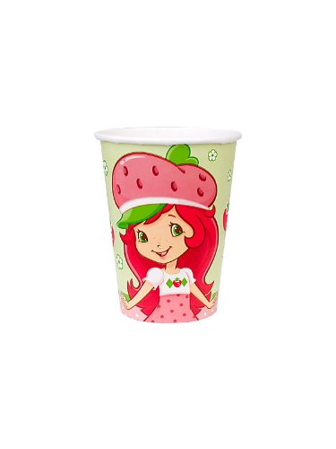 Strawberry Shortcake Party Cups 8 Pack