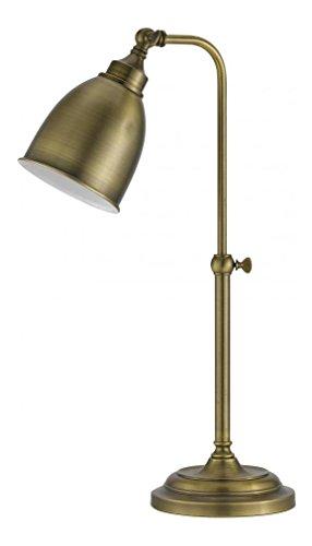 Antique Brass Pharmacy Desk Lamp - 5