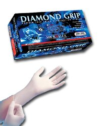 Microflex MF300S Powder Diamond Gloves