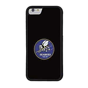 U.S. Navy Seabees Phone Case Compatible iPhone 7 8 Personalized Cell Phone Case Compatible iPhone 7 8 Compatible with Men/Women 02 by Damayla