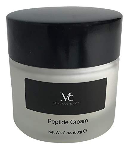 MIKIO Cosmetics Peptide Cream - Paraben Free, Anti Wrinkle, Skin Firming & Moisturizer