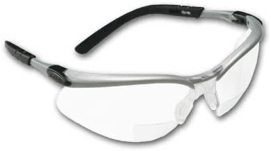 MCR SAFETY BKH20 Scratch-Resistant Bifocal Safety Reading Glasses +2.0