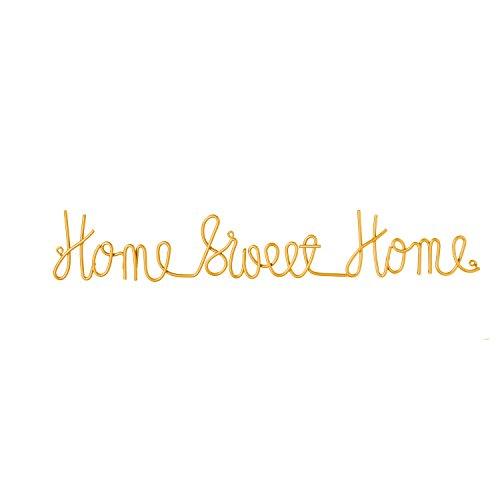 Cape Craftsmen Home Sweet Home 3-D Cursive Metal