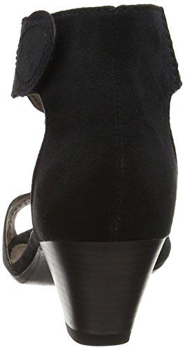 Softline28362 - sandalias en T Mujer Negro - negro
