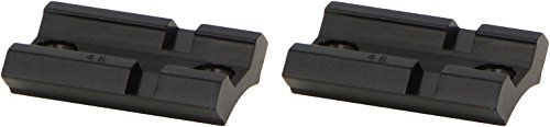 Top Mount Base - WEAVER Top Mount Matte Black Base Pair - Savage 110 with Accu Trigger