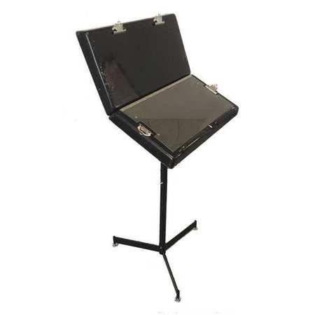 Workstand, Blk, 12in.Hx23in.W, Stl, 100 lb.