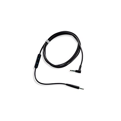 Bose QuietComfort 25 Headphones Inline Mic/Remote Cable for Samsung & Android Devices - Black