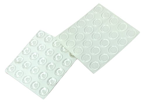 Clear Glass Protective Pads (50 PCs) - 1/2