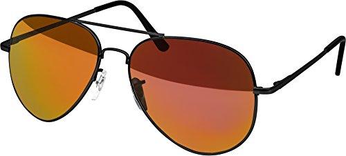 effet Ans soleil Années soleil Black Homme soleil Lunettes aviateur de Matt miroir amp; de d'aviateur lunettes Lunettes Femmes Fire de lunettes '70 Xx8BgTq4w