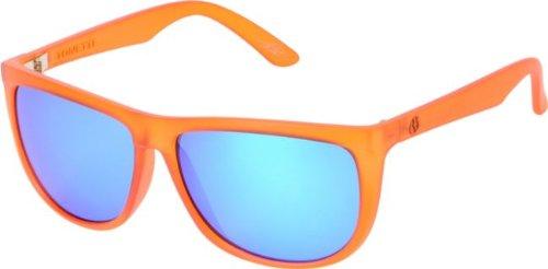 Electric Tonette Atomic Tangerine / Grey Blue Chrome Sunglasses