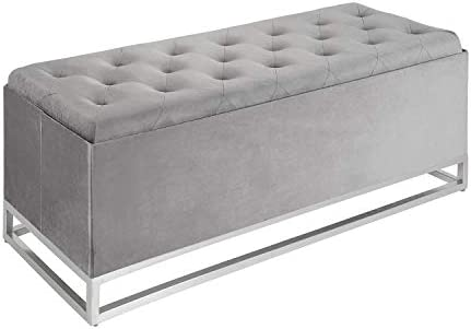 Inspire Me Home D cor Jessica Ottoman Bench