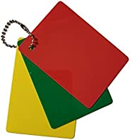 Merz67 LLC Referee Penalty Cards Delay (Green), Warning (Yellow) & Ejection (