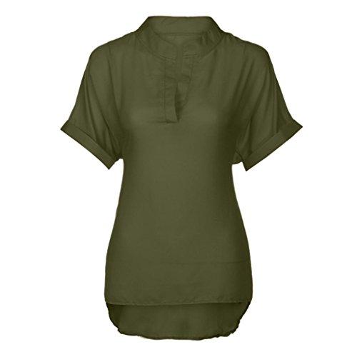 Femme Green Chemisier VNEIRW Clothing Women's BOtxAUqUw