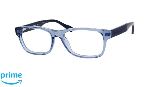 bba67c091e3d Amazon.com: Hugo Boss Orange Rx Eyeglasses - 0084 06V1 - Transparent Blue  (52/16/140): Shoes
