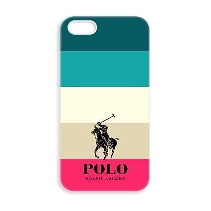 JiHuaiGu (TM) iPhone 5 5s funda Polo Ralph Lauren personalizado ...