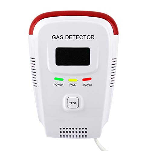 - Plug-in Natural Gas Detector,Propane / Methane Sensor Alarm Detector for Home, High Sensitivity,Easy-to-Use