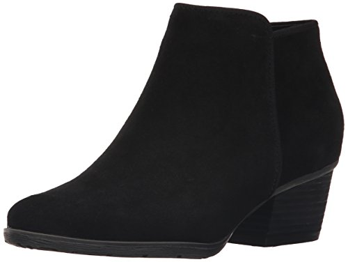 Blondo Women's Villa Waterproof Ankle Boot, Black Suede, 8 M US