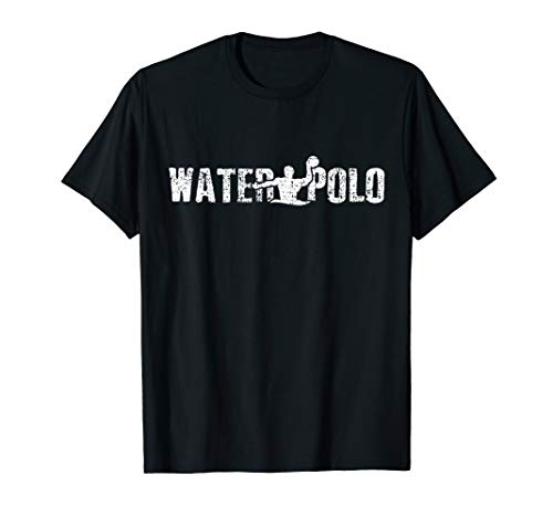 Water Polo T-Shirt Player Tshirt Sport Vintage Gift Tee