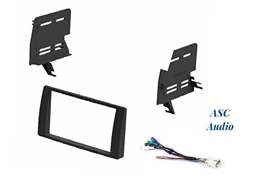 (ASC Car Stereo Dash Install Kit and Wire Harness for Installing an Aftermarket Double Din Radio for some 2002 2003 2004 2005 2006 Toyota Camry with Factory Premium Amp - No OEM Factory Navigation)