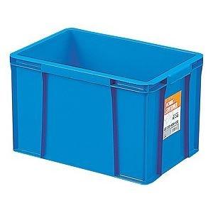 【12セット】 ホームコンテナー/コンテナボックス 【HC-24B】 ブルー 材質:PP 〔汎用 道具箱 DIY用品 工具箱〕【代引不可】 B07PDD3M2X